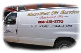 [photo] Metrowest Oil Heat Service, 24 hours a day, 7 days a week, 508-875-2770, Framingham, MA